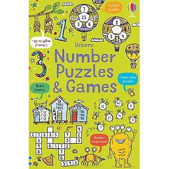 Number Puzzles and Games by Phillip Clarke - 9781474969338 Book