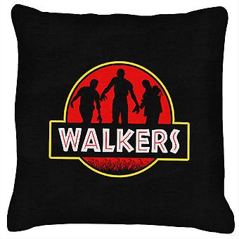 Jurassic Walkers Walking Dead Park Cushion