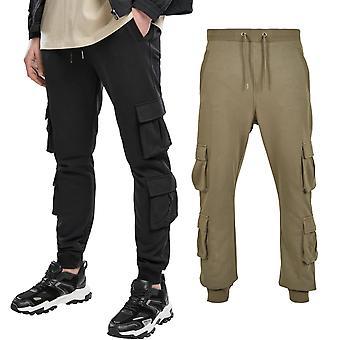 Urban Classics - Dubbel Pocket Cargo Terry Sweatpants