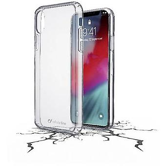 Cellularline Clear Duo Back cover Apple iPhone XR Transparent