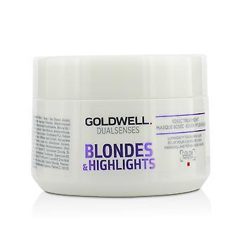 Dual senses blondes & highlights 60 sec treatment (luminosity for blonde hair) 215435 200ml/6.8oz