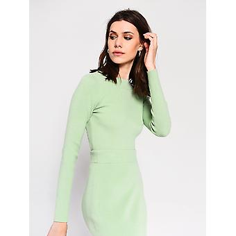 Green cut out back top