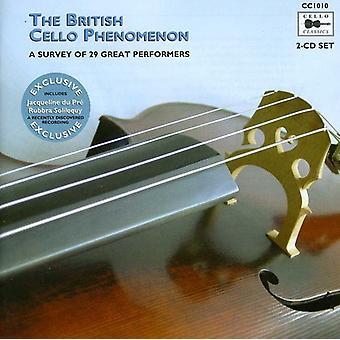 Jacqueline Du Pre - The British Cello Phenomenon: A Survey of 29 Great Performers [CD] USA import