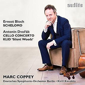 Coppey、マーク/ドイツ交響曲スラヴ ベルリン - ブロッホ: シェロモ/ドヴォルザーク: サイレントウッズ-チェロ協奏曲 Op 104 [CD] アメリカ インポート/