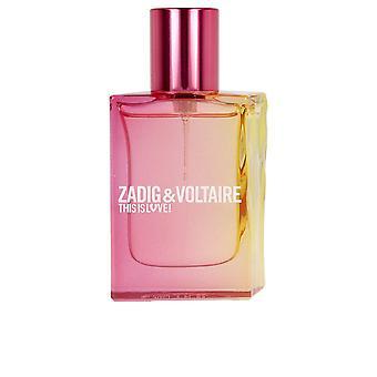 Zadig & Voltaire Dette er kærlighed Pour Elle Edp Spray 50 Ml For Kvinder