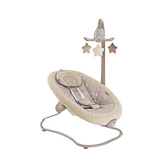 Mobile grau Remote Timer 12 Melodien Cangaroo Babywippe Woodsy 2 in 1 5 Stufen
