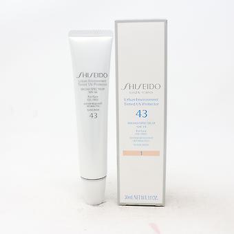 Shiseido Ambiente Urbano Tinted Uv Protector Foundation Spf 43 1.1oz Nuovo
