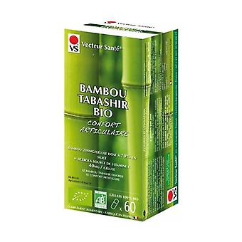 bambou Tabashir 100% bio (70% Silice + acerola bio) 60 vegetable capsules