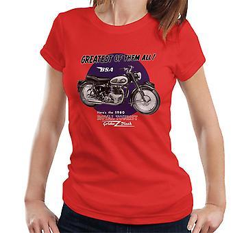 BSA Greatest Of Them All Golden Flash Women's T-Shirt