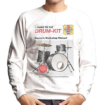 Haynes Drum Kit Owners Workshop Manual Men's Sweatshirt