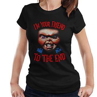 Chucky im din vän kvinnor ' s T-shirt