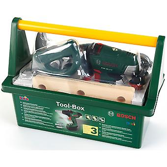 Klein Bosch Tool Box With Cordless Drill