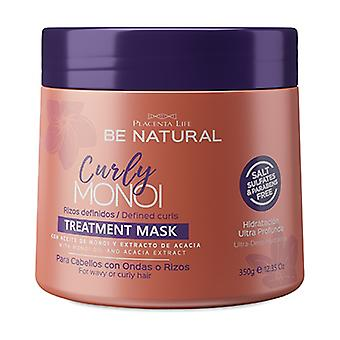 CURLY MONOI Treatment Defined Curling Mask 350g Cream