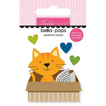 Bella Blvd Cat in a Box Bella-Pops (4pcs) (BB2279)