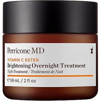Perricone MD Vitamina C Ester Iluminando creme de tratamento noturno 59ml