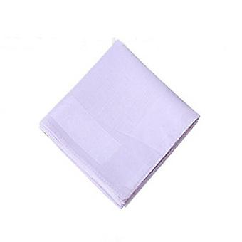Pure Neck Hair Scarf Towel Handkerchief For Women - Plain Pocket Squares Hankies Gift For Girls
