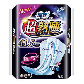 Unicharm Sofy Serviette hygiénique de nuit 41.5cm 6pads