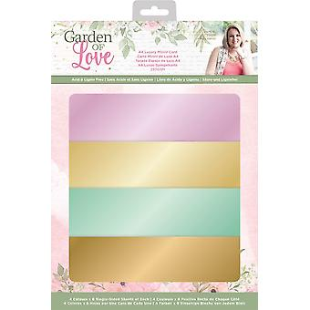 Crafter's Companion Garden of Love A4 Luxury Mirror Card