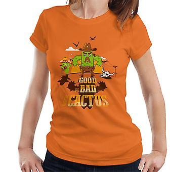 The Good The Bad And The Cactus Cowboy Women's T-Shirt