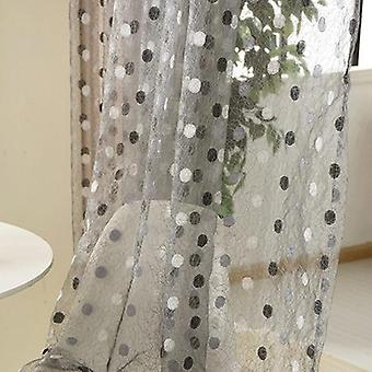 Modern Stylish Tulle Voile Curtain