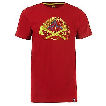 La Sportiva Men's Hipster T-Shirt Red