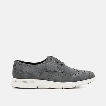 Morrison grey casual derby shoe