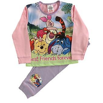 Winnie The Pooh Girls Best Friends Pyjama Set