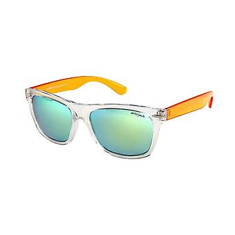 Sunglasses Unisex yellow with golden lens ZO0008B