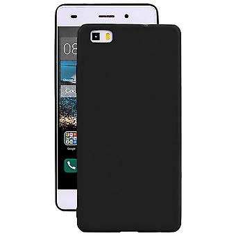 Protection mobile douce pour Huawei P8 Mobile Protection Mobile Case Black