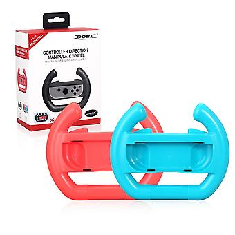 2pcs Nintend-switch-racing-game Steering-wheel, Joy-con Holder-stand Handle