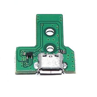 12 Pin v3 micro usb charging socket ic board for sony ps4 controllers jds-030
