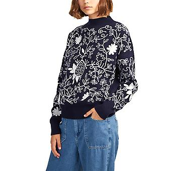 French Connection | Sacha Embroidery Knits Sweater