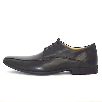 Anatomic & Co Tapua Mens Leather Lace Up Shoe In Black