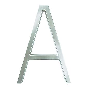 12cm Silver House Number Sign #0-9 Alphabet Letters Dash Slash Signage For Home Door Numbers Outdoor