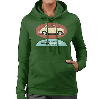 Morris Minor 1000 Its The Car Called Success British Motor Heritage Women's Hooded Sweatshirt