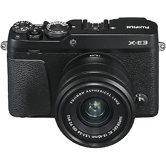 FUJIFILM X-E3 Black KIT XC 15-45MM F3.5-5.6 OIS PZ Black
