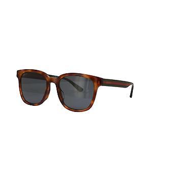 غوتشي آسيا صالح GG0848SK 004 هافانا / الأخضر الرمادي نظارات شمسية
