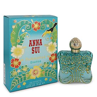 Anna Sui Romantica Exotica Eau De Toilette Spray door Anna Sui 2.5 oz Eau De Toilette Spray