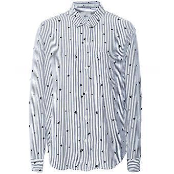 Rails Rocsi Flocked Star Print Shirt