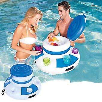 Inflatable Water Ice Bucket Beer Drink Supplier Swimming Pool Float For Adult