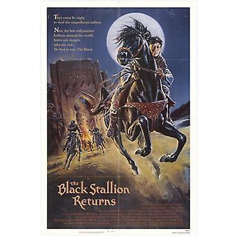 The Black Stallion Returns Movie Poster Print (27 x 40)