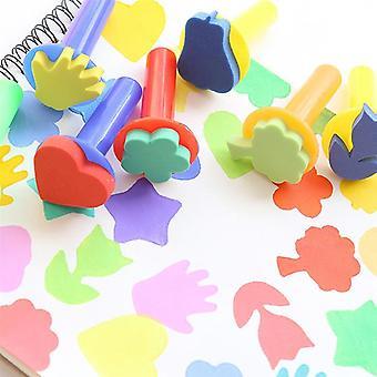 Painting Sponge Brush Set With Beautiful Colors