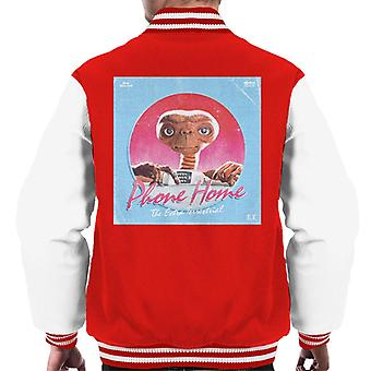 E.T. Phone Home Galactic Background Men's Varsity Jacket