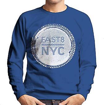 Nopea ja raivoisa nopea 8 NYC Men's Collegepaita