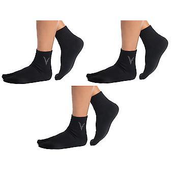 Woolen Casual Parmak arası Terlik Ayak Bileği Çorapları