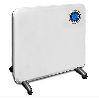 Futura 1500W Electric Panel Heater Intelligent 24 Hour 7 Day Timer Bathroom Safe
