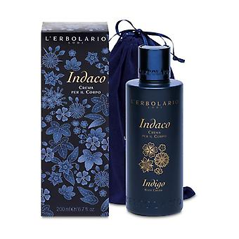 Indigo Body Cream Limited Edition Velvet Bag 200 ml of cream