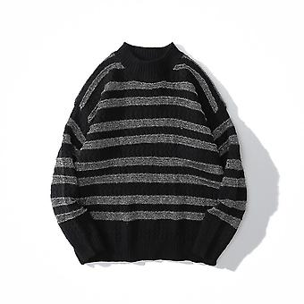 Washed Destroyed Ripped Sweater, Men Hole Knit Jumpers, Women Oversized