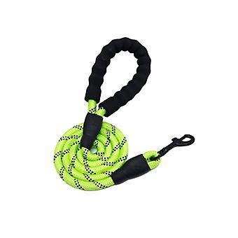 Dog Leash Comfortable Grip Nylon Reflective Leash Pet Gear for Small Medium Dog