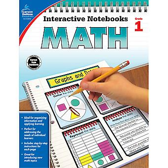 Interactive Notebooks: Math Resource Book, Grade 1